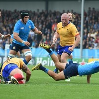 Italy hold off strong Romanian comeback to pick up second win of the World Cup
