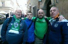 'It's in our hands!' - We went out to meet the Irish fans who have travelled to Warsaw