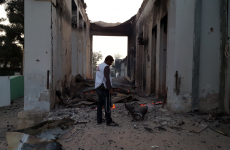After patients burn to death in hospital bombing, charity refuses to take US money