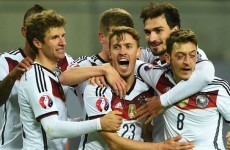 Germany stutter past Georgia to top Group D
