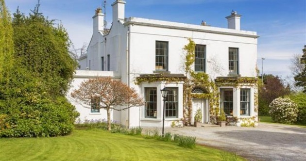 This Victorian mansion in Foxrock is for sale... and it comes with a granny flat*