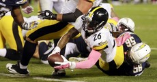 The Steelers won with this last-second wildcat touchdown last night