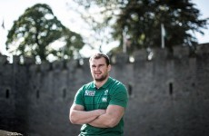Ruddock fresh and ready to fire after words of encouragement from Peter O'Mahony