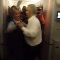 This is what happens when a trad session breaks out on an Aer Lingus flight