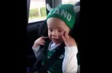 Ireland's tiniest rugby fan nails Ireland's Call and it's adorable