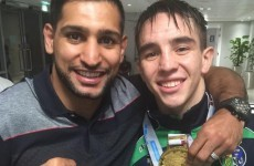 Amir Khan made a right mess of congratulating Michael Conlan on his World gold