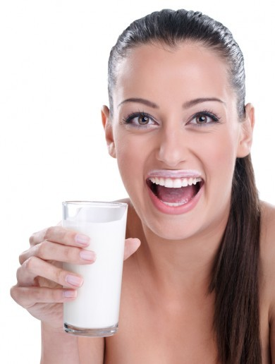 The Burning Question*: Is it OK to have a pint of milk with your dinner?