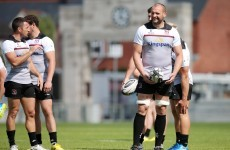 Dan Tuohy starts for Ulster after missing out on World Cup call