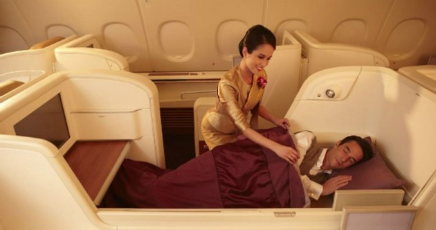 The 10 cushiest first-class airplane cabins in the world