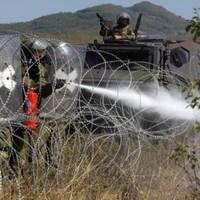 Serbs clash with NATO forces in Kosovo