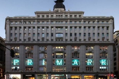 The new he Primark Gran Via has clothes across five floors.