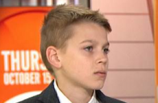 Schoolboy sued by his aunt for breaking her wrist 'still loves her'