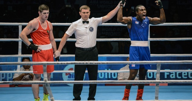 Disappointment for Joe Ward as he's forced to settle for World Championship silver