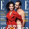 Eric Cantona has posed naked alongside his fully clothed wife