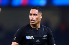 Aaron Smith snapping at the chance to 'mark himself' against France's Parra