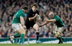 The All Black out-half who honed his skills on the GAA fields of Co Meath