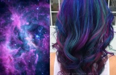 'Galaxy hair' is real and it looks absolutely incredible