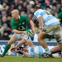 Peter Stringer: Johnny's kicking will be crucial in punishing indiscipline from Argentina