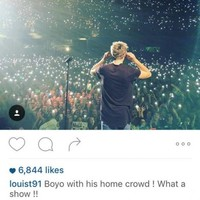 Harry and Niall went full Hardy Bucks at One Direction in Dublin last night