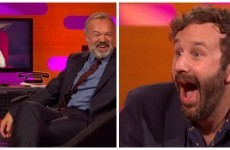 Chris O'Dowd inspired the best Graham Norton red chair story ever
