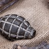 Hand grenade thrown in built-up residential area