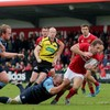 Battling Munster top Pro12 table after beating the Blues