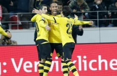 Dortmund shake off their recent problems as key attacker gets back among the goals