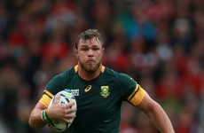 Ridiculous behind-the-back offload gives Springboks win over Wales