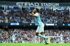 Hat-trick hero Sterling leads 5-star City to success