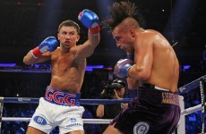Unbeaten Golovkin pummels Lemieux to unify titles