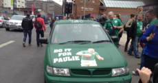 Spotted in Cardiff: This brilliant 'Do it for Paulie' paint job
