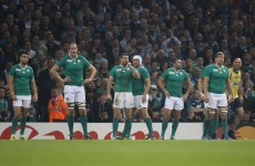 As it happened: Ireland v Argentina, Rugby World Cup quarter-final