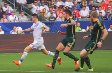 Robbie Keane scored a goal of the season contender in the US last night