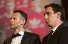 Gary Neville and Ryan Giggs reduce homeless group to tears with incredibly kind gesture