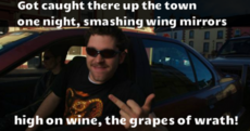 10 Hardy Bucks lines that will make you glad of its glorious return