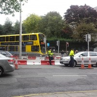 It looks like gardaí have started handing out tickets on one of Dublin's busiest junctions