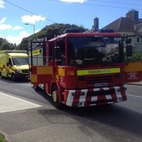 Person taken to hospital after Dublin house fire
