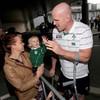 In pics: Irish team return to low-key homecoming