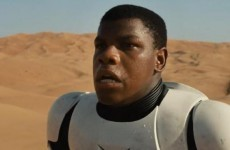Some people want to boycott the new Star Wars - because the lead actor is black