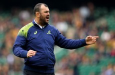 Cheika springs to defence of Craig Joubert after World Rugby sell him out