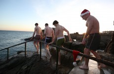 Planning a Christmas swim? Converts swear it gives you a 'natural high'
