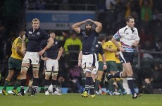 Two Irish officials on the line as Joubert dropped from World Cup semi-final ref roster