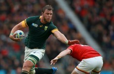 Boks clash with the All Blacks is all mental, says 'machine' Vermeulen