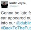 Dublin Bus just fell for this Back to the Future-themed prank