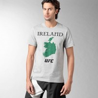 Reebok has withdrawn this 'Ireland map' UFC t-shirt after a huge backlash
