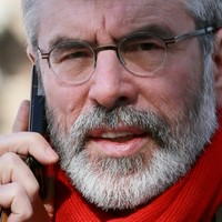'You could do this interview without me': Gerry Adams had a run-in with RTÉ earlier