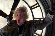 Did you forget to put the clock back? You big eejit