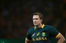 Leicester boss Cockerill confirms talks with Springbok legend Jean de Villiers