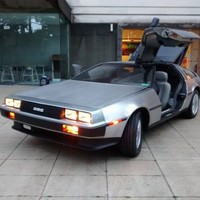 It's Back To The Future Day, and these students have celebrated by rebuilding an electric De Lorean