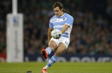 Argentina hero Sanchez learned from 'best player of all time' Wilkinson at Toulon